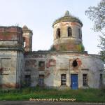 Знаменский храм деревни Ивановское