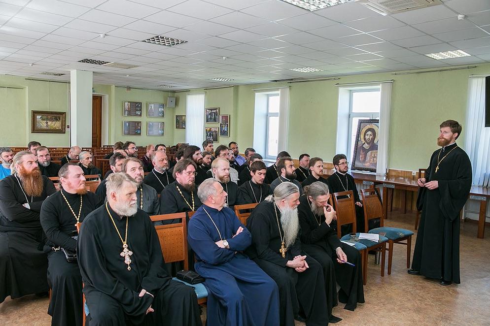 Собрание духовенства и пастырский семинар в Щелковском благочинии