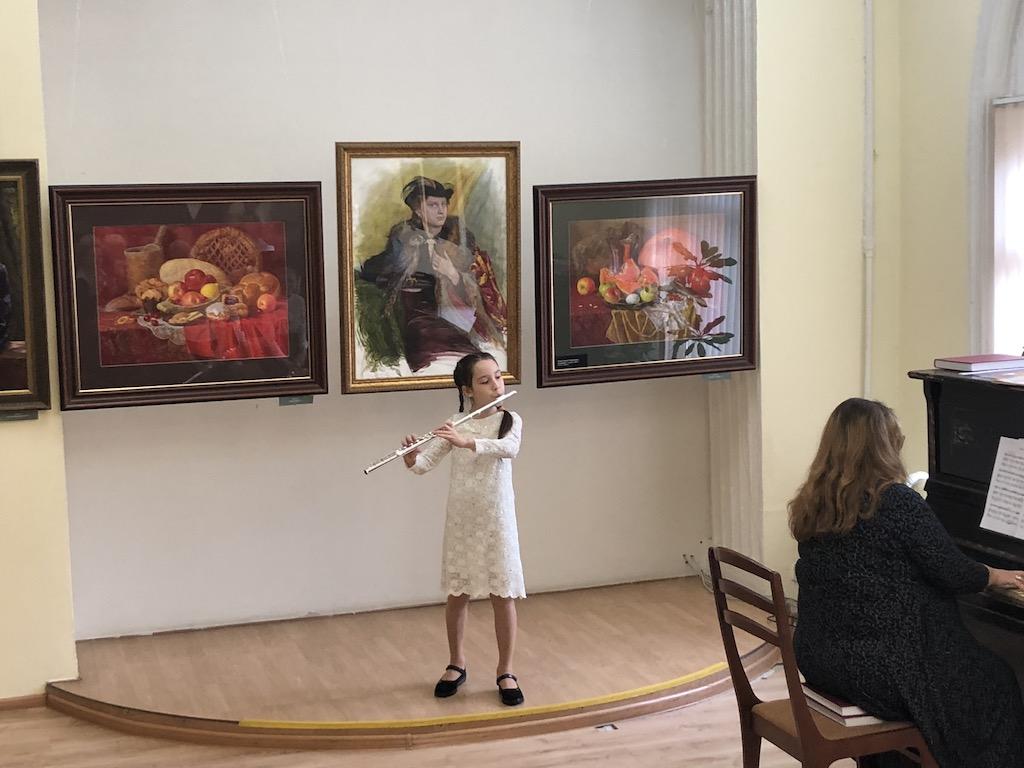Открытие выставки «Мастер и ученик»