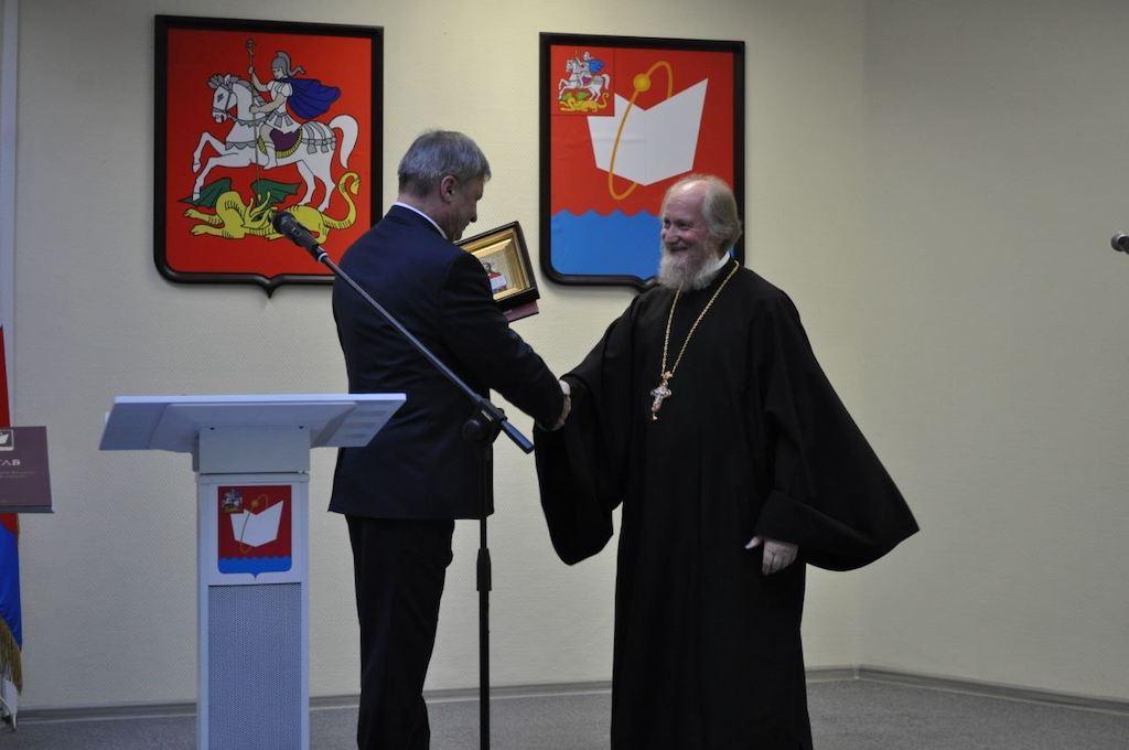 Вступление в должность Главы городского округа Фрязино